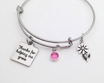 Baby Sitter Gifts, Baby Sitter, Babysitter Gift, Babysitter Thank you, Thank you Bracelet, Teacher Gifts, Nanny Gift, Sitter Gifts Mom Gifts