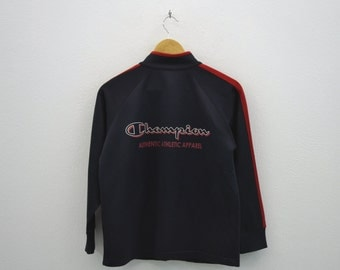 Champion Jacket Women Size S Vintage Champion Track Top Size 150