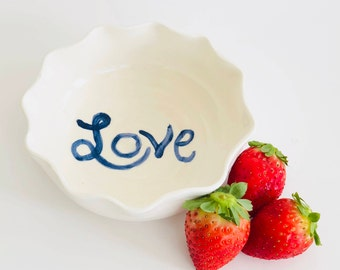 Small LOVE Ceramic Bowl