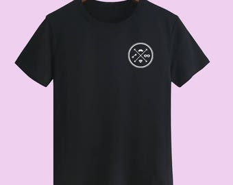 Hipster unisex t shirt T shirts for men t shirts for women t shirt youth t shirt street wear t-shirts arrow t shirt customize gift t shirt