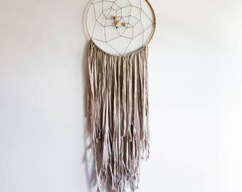 Large Dream Catcher,Bohemian Dream Catcher,Wall Hanging,Baby Shower Gift,Nursery Decor,Dorm Decor,Valentines Day,Yoga Studio Decor