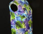 New old stock deadstock women's sleeveless Hawaiian shirt button up Mei Jan of Hawaii tiki wear size 16 brown blue white new condition