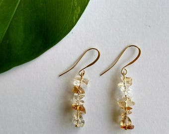 Kalahali's Citrine Bohemian Energy Earrings
