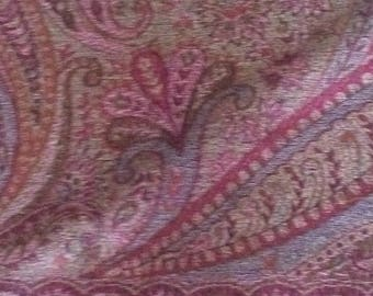 Jamawar Shawl wool 100 x 200 cm