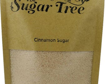 Cinnamon Sugar Crystals - Naturally Flavoured Cinnamon Sugar - Cinnamon Sugar - Flavoured Sugar - Gourmet Sugar - Artisan Sugar