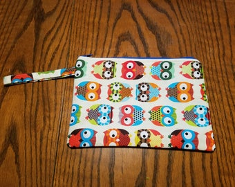 Owl Zipper Pouch Bag