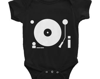 vinyl turntable Infant Bodysuit baby grow