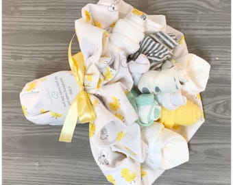 Gender Neutral Baby Gift Bouquet   New Baby Gift Baby Ducks   Gender  Neutral Baby Shower