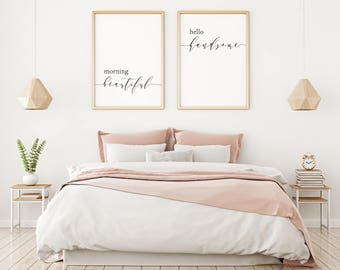 Above bed art etsy - Over the bed art ...