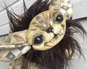 LEAFY BROWN - Dream Creeper Plush Art Doll