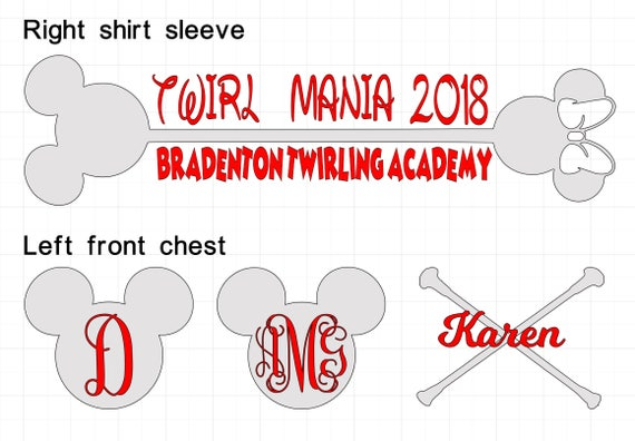BTA (only) Twirl Mania Shirts - must bring long-sleeved black t-shirt to the studio (see details for link)