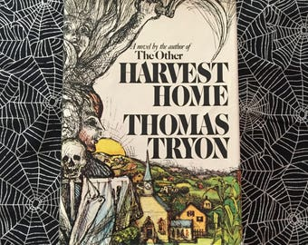 HARVEST HOME (Hardcover Novel by Thomas Tyron)