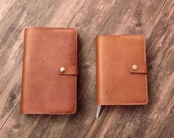 Custom Leather Bible Cover for ESV Classic Thinline by Crossway