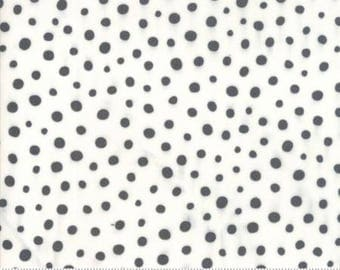 SALE!! 1 Yard Savannah by Gingiber for Moda- Spotted 482256-11 Charcoal