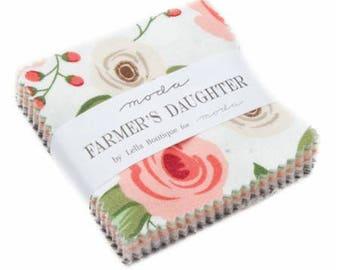 Mini Charm Farmers Daughter by By Vanessa Goertzen of Lella Boutique for Moda- 40 Fabrics