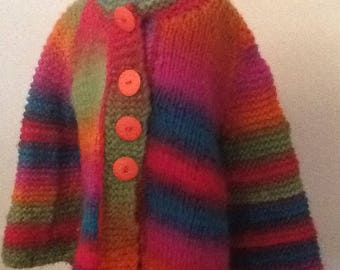 GIRLS HANDKNIT JACKET