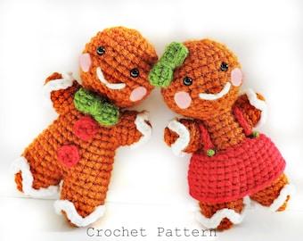 Crochet Gingerbread Pattern, Crochet Gingerbread Man, Amigurumi Christmas Pattern, Crochet Christmas Pattern, Gingerbread Amigurumi, Craft