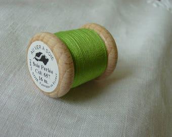 Beaded silk No. 657 16 meters coil