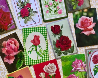 Rose Vintage Playing Cards