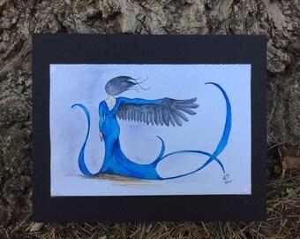 Transformation: original watercolor art