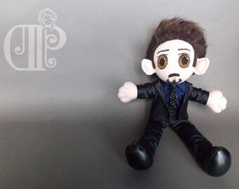 Iron Man Tony Stark The Avengers Plush Doll Plushie Toy