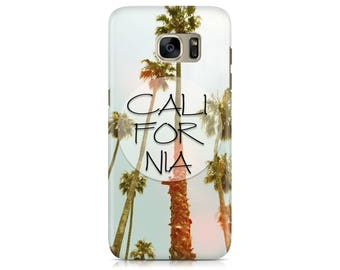 Case for Samsung Galaxy S7 S7 Edge Galaxy S8 Galaxy S8 Plus iPhone 7 iPhone 7 Plus LG G4 LG G5 Htc 10 Htc M9 California Palm