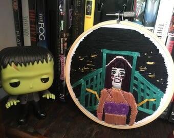 Frankenhooker Embroidery Hoop
