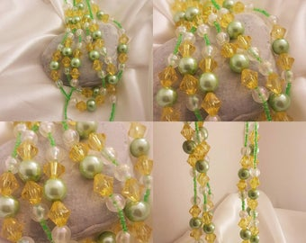 3 row Pearl Necklace