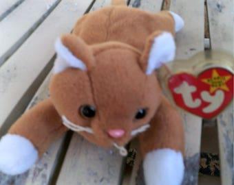 Ty Beanie Baby Nip The Cat