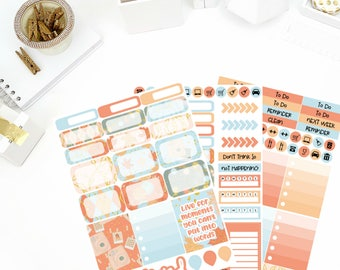 Autumn Memories Weekly Kit Stickers! Perfect for your Erin Condren Life Planner, calendar, Paper Plum, Filofax!
