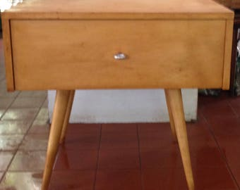 Paul McCobb Modular end table/ night stand/one drawer