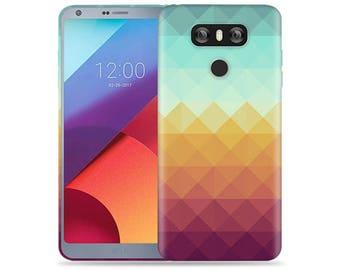 LG G5 Case #Pixel Waves Cool Design Hard Phone Case