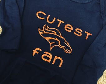 Denver Broncos Cutest Fan Onesie