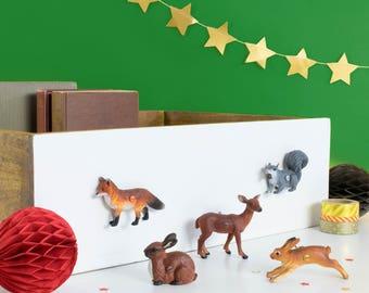 Woodland Animal Furniture Knobs - Woodland Nursery - Animal Knobs - Woodland Bedroom - Woodland Nursery Decor - Bedroom Wardrobe Knobs