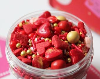 Hot Stuff Sprinkle Mix (175g Jar)