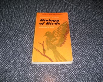 Biology of Birds by Wesley E. Lanyon Pb 1963 Vintage