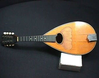 Antique Washburn Bow or Gord Back Mandolin in as-is Condition  1 M