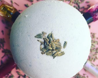 Sleep Tight Lavender & Chamomile Bath Bomb, Ladies Bath Bomb, Surprise Bath Bomb, Mothers Day Gift, Christmas Bath Bomb, Christmas Gift