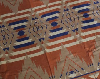 Vintage Native American Warm Beacon Camp Blanket 66x68