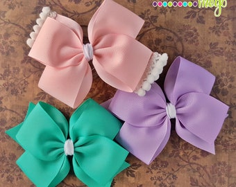 Pretty Pastel Classic Bow Set