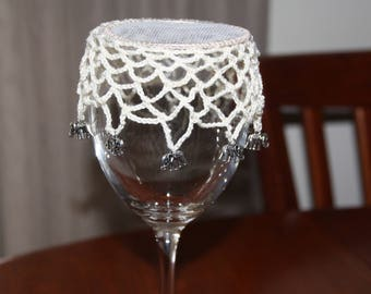 Crocheted Wine Glass cover
