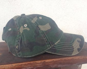 OUT is in USA Camo Distressed Cap, Rainbow Pride Cap, ARMY style cap, military camo hat, green camo distressed cap,