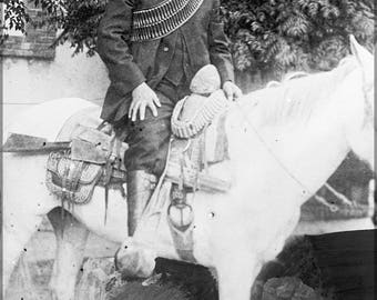 Poster, Many Sizes Available; Pancho Villa On Horseback Francisco Villa