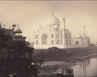 Poster, Many Sizes Available; Taj Mahal, Agra, India 1870