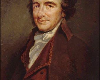 Poster, Many Sizes Available; Thomas Paine Author Of Common Sense