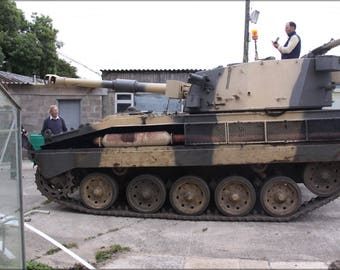 Poster, Many Sizes Available; Abbot Tank Spg