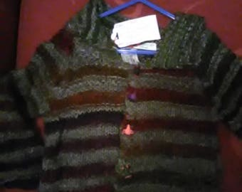 Hand knitted Cardigan to fit a child aged 18-24 months old