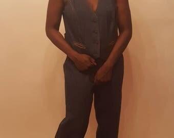1970s  3 piece Woman pant suit