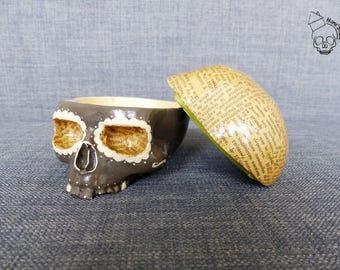 Home Skull, skull, vanity, skull, Skull Box vintage Calaveras 10