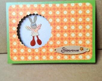 For a newborn baby boy card